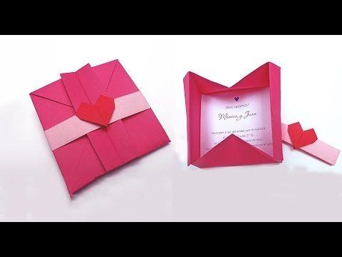 Днем, оригами открытка коробочка