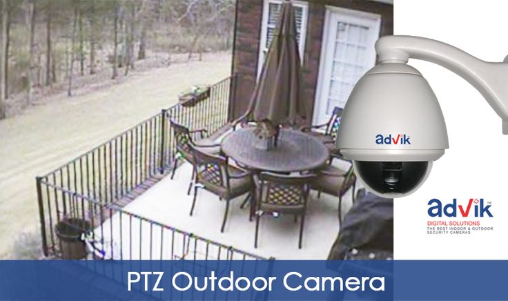 The ultimate outdoor #domecamera with IP66 rating and 700 TVL resolution.More details: http://advik.net/products/security-camera/pan-tilt-zoom-ptz-camera.html