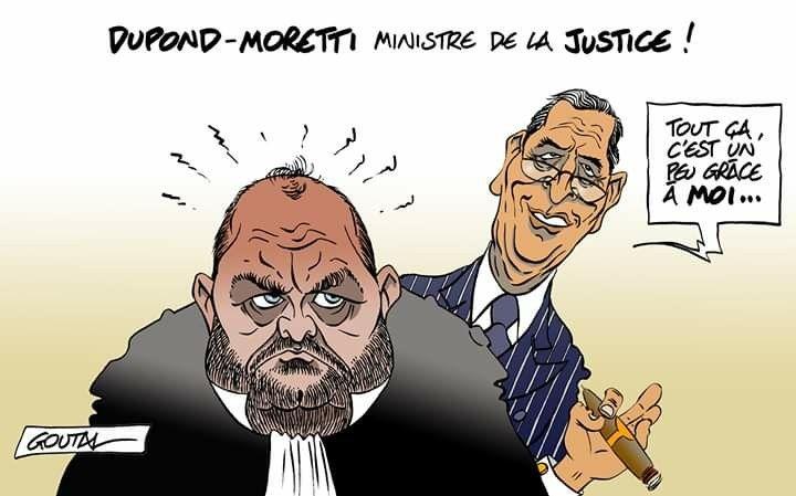 Goutal (2020-07-07) France: Dupond-Moretti | Caricatures, Humour, Ministre  de la justice