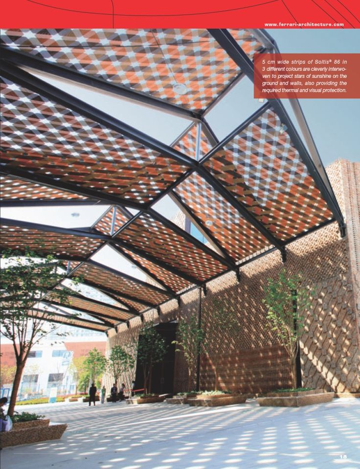 300 best canopies images on pinterest architecture for Architecture textile