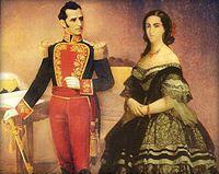 Antonio José de Sucre y Mariana Carcelén de Guevara