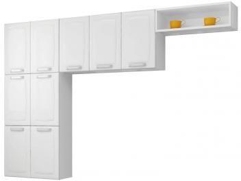 Cozinha Compacta Itatiaia Luce 9 Portas - Aço