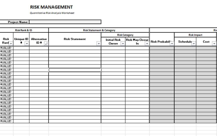 Best Program Management Plan Template Images On