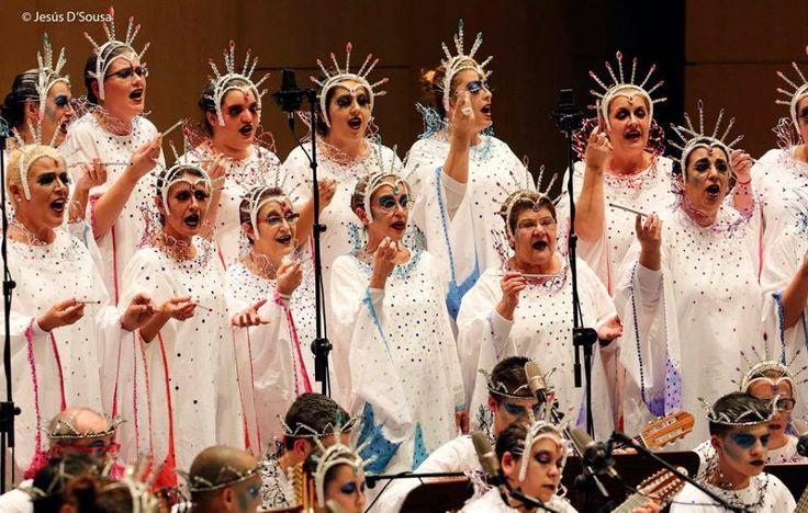 Grupo Mascarada Carnaval: Gran Tinerfe, Walkirias y Aceviños en el certamen ...