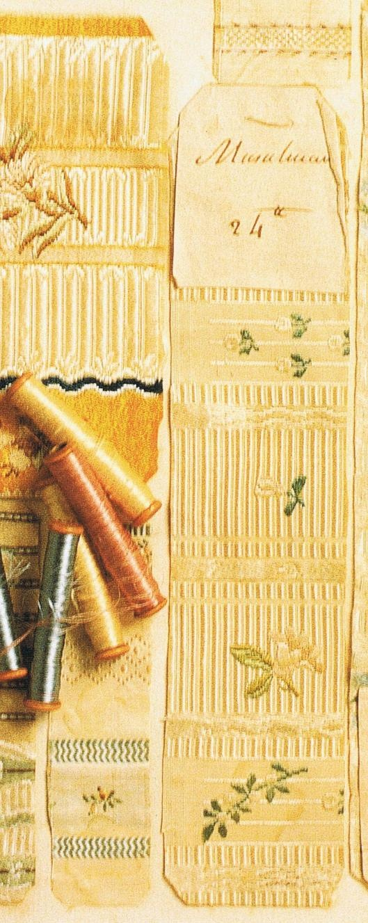 18th century French fabric and threads