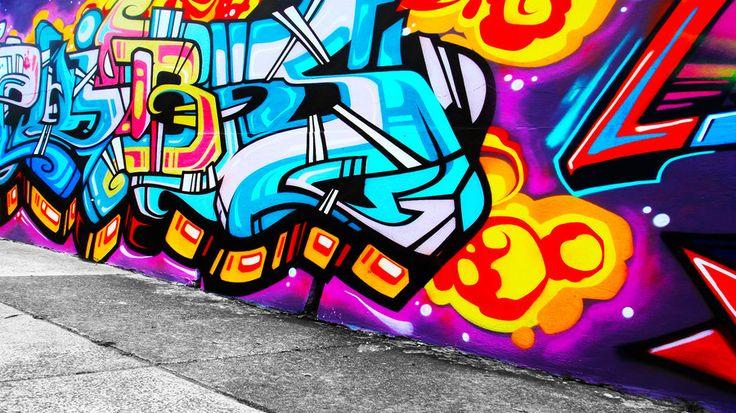 Graffiti Wallpaper 4 by alekSparx.deviantart.com on @deviantART