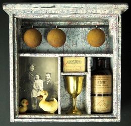 Joseph Cornell Elements - Greg's Mixed Media Gallery