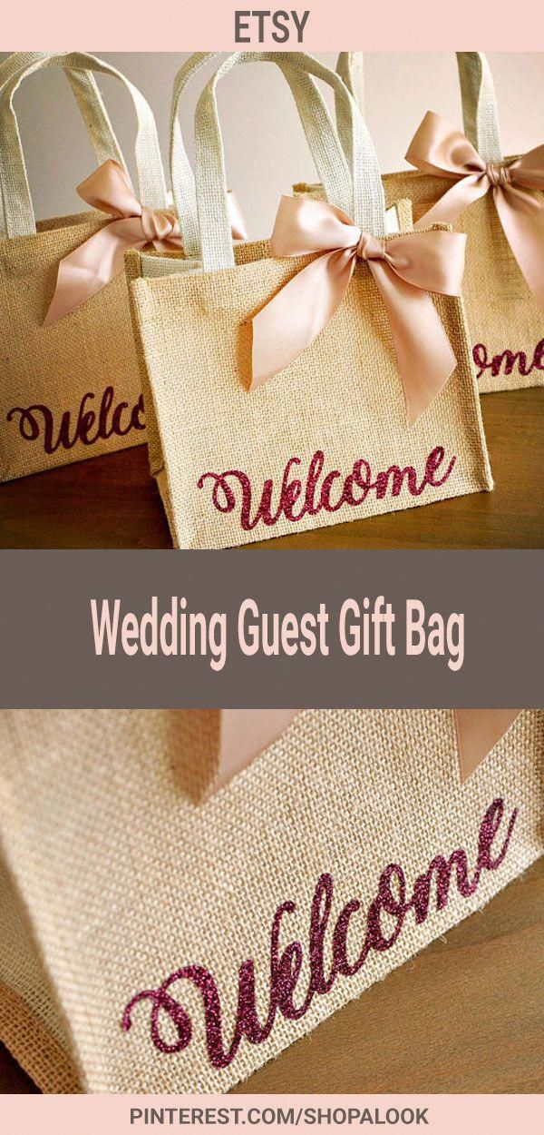 Welcome Gift Bags Wedding Guest Gift Bag Hotel Welcome Bag Burlap Gift Bag Afflink Weddi Wedding Gifts For Guests Wedding Gift Bags Wedding Guest Gift Bag