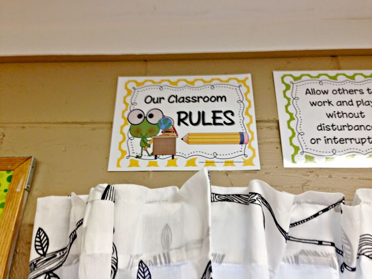 FROG Fully Rely On God- Classroom rules frog them free printable