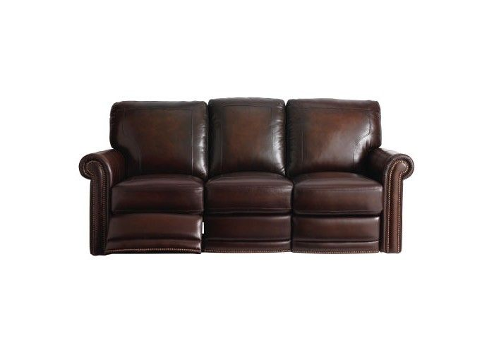 Best Bassett Hamilton Reclining Leather Sofa Set New Living 400 x 300