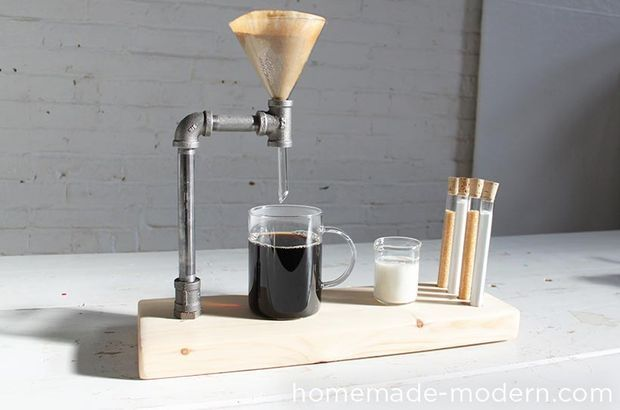 Picture of HomeMade Modern DIY Pipe Coffee Maker
