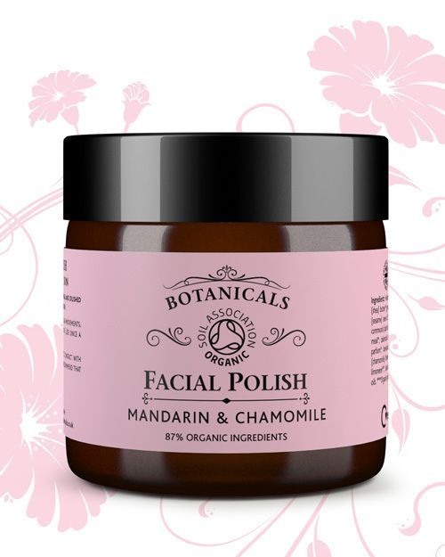 Natural face polish : chamomile & mandarin from Botanicals Natural Skin Care