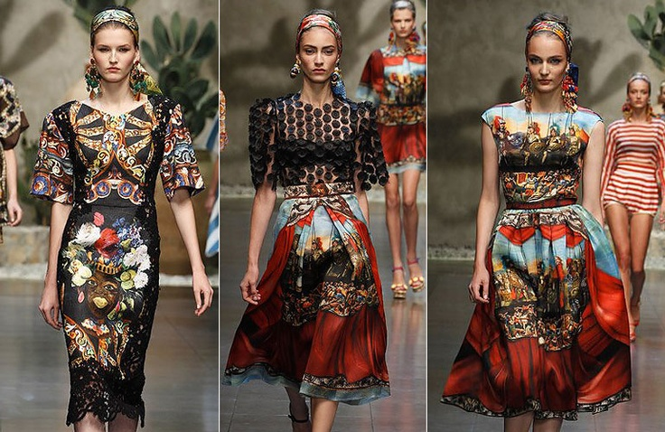 dolce ss2013 / I WANT TO WEAR THIS WHOLE GORGEOUS SICILIAN COLLECTION FOR THE NEXT 25 YEARS.