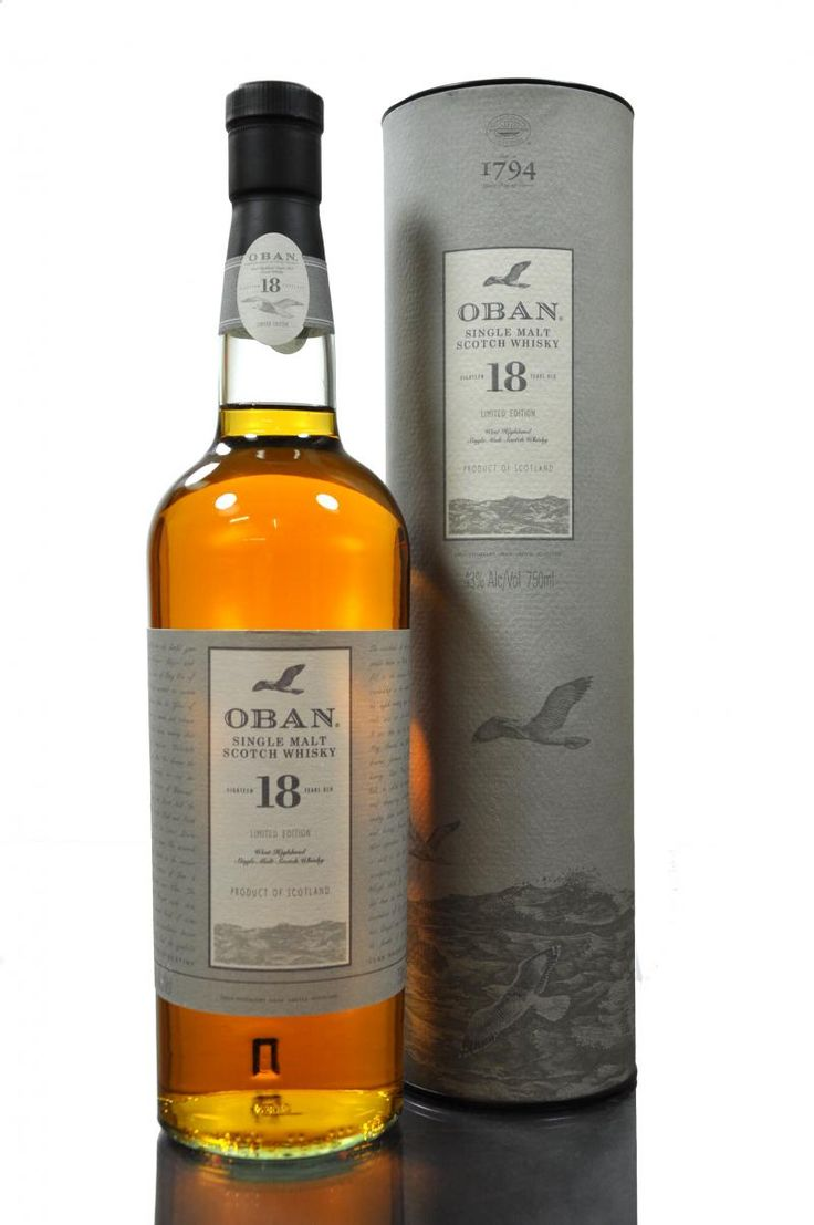 oban whisky - 18 years old