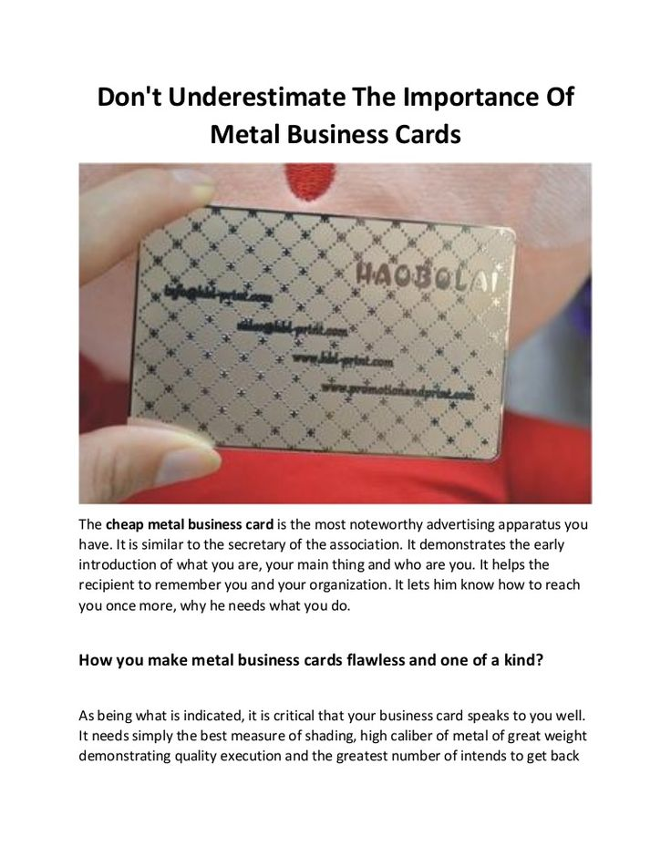 149 best Metal Business Cards images on Pinterest | Stainless ...