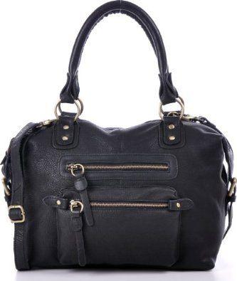 MASQUENADA, Cntmp, Bolt-Bag, Handtasche, Umhängetasche, Soft Leder