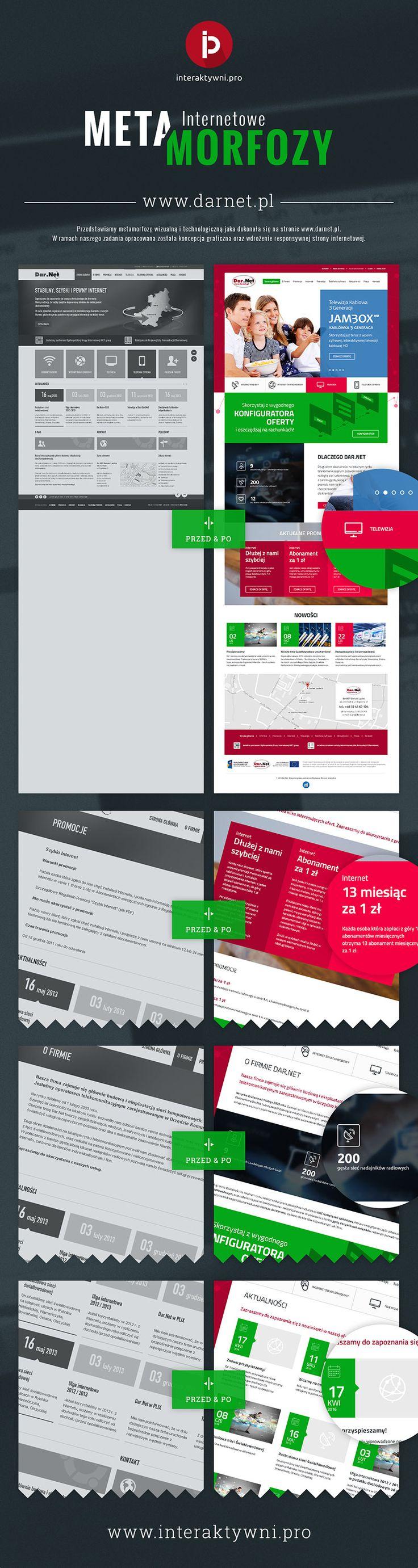 Internetowe metamorfozy by Interaktywni.pro. Zobacz jak zmieniamy strony internetowe zgodnie z najnowszymi trendami. // Internet metamorphosis by Interaktywni.pro. Check how we change  websites according to the latest trends. #agencjainteraktywna #interactiveagency #web #webdesign #responsivewebdesign #rwd