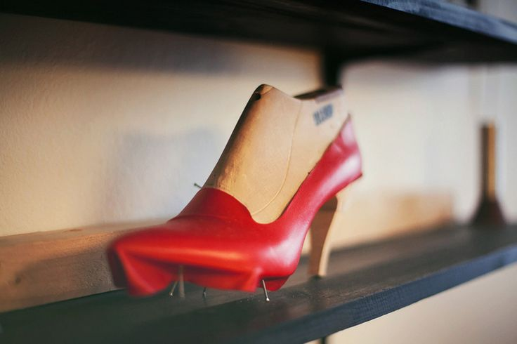 Shoebakery, the studio/shop of 5 independent Finnish shoe designers in Helsinki, Finland. Click to read more: www.fashionflashfinland.com ! Kuva: Aarrekuva #fashion #finland #fashiondesigner #shoedesigner