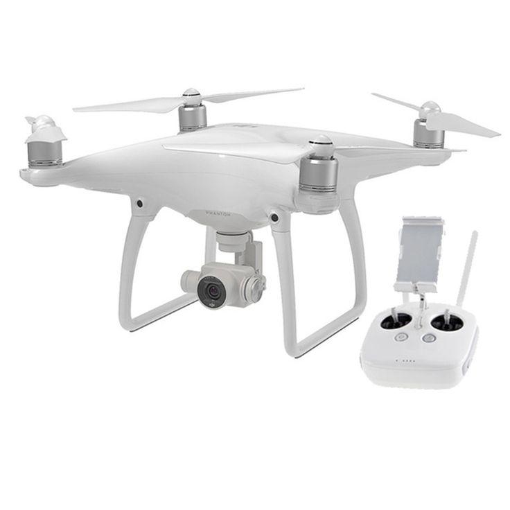 DJI Phantom 4  Normal-sized quadcopter met 4K HD video-camera en obstakel ontwijking.  EUR 1199.00  Meer informatie