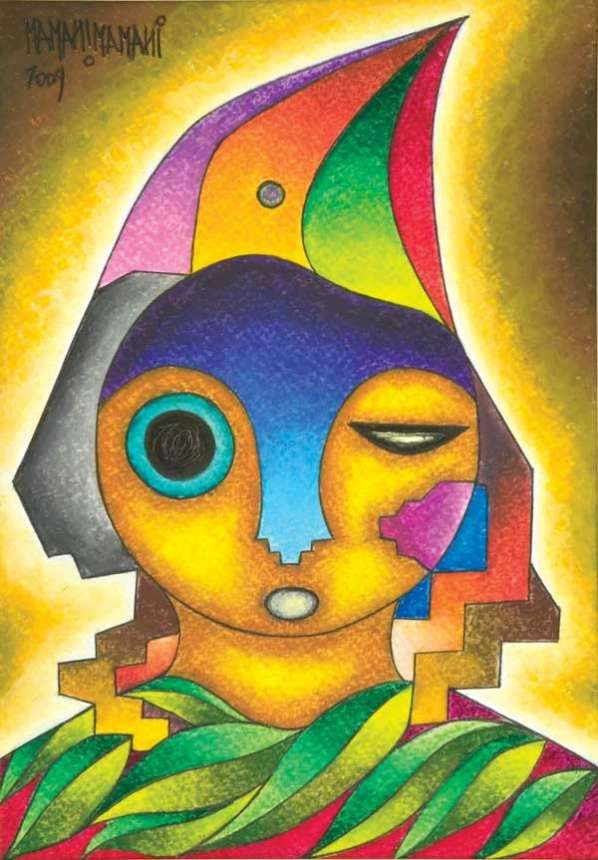 mamani mamani - bolivian artist
