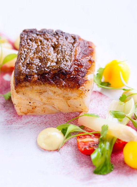 David Kelman's roast fillet of cod recipe produces an exquisite dish, full of refined flourishes that elevate it to something special. You can buy the striking pink beetroot powder online, or from specialist stores.