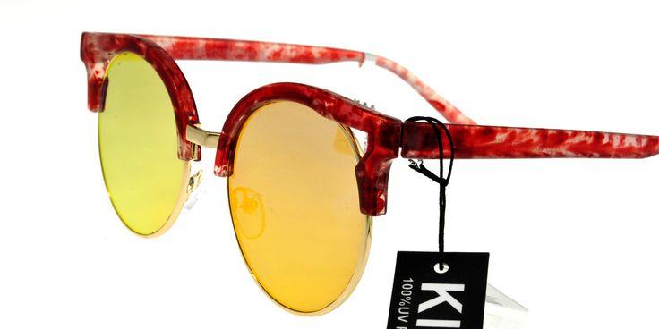 Γυαλιά Ηλίου Unisex KISS KS1743RV Red Κόκκινο Πεταλούδα Κόκκινος Καθρέφτης