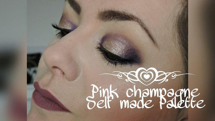 [Tutoriel] Pink Champagne Self Made Palette ABH
