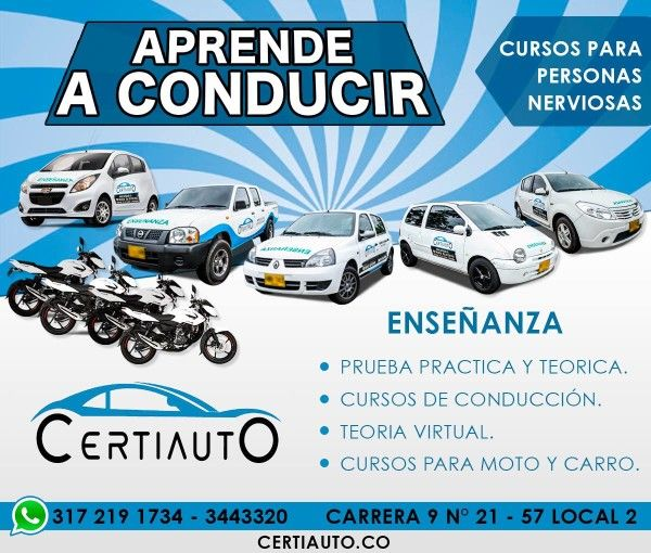 Certiauto CEA  centro de enseñanza automovilistica Pereira Risaralda Colombia RUNT Ministerio de Transporte