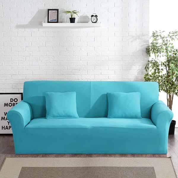 Solid sofa cover (avec images) | Déco maison pas cher ...