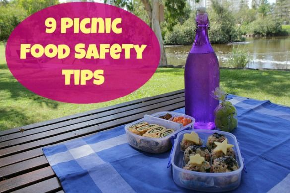 Picnics are awesome ... until you get food poisoning. Nine tips to keep that yummy picnic food safe!