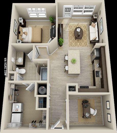 Read More About  Plans En Dappartement Avec  Chambres