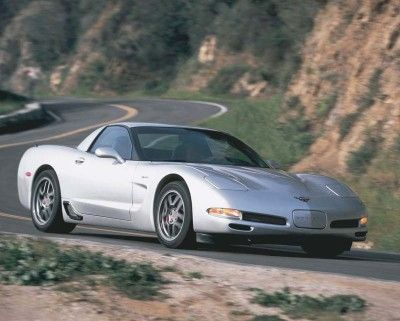 The 2002 Corvette Z06 got the most attention for the year, with its LS6 engine muscled up to 405 horsepower. #corvette
