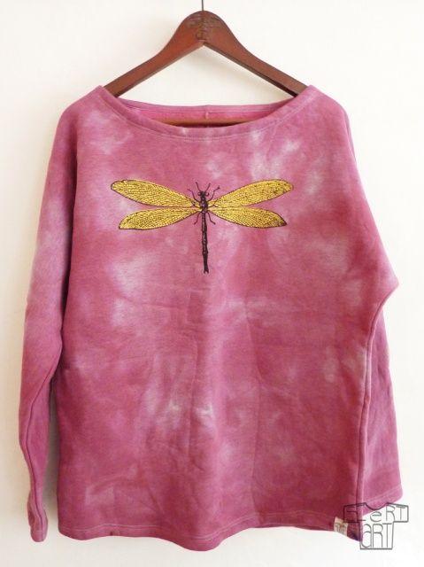 Bawełna 100 %, oryginalna, pojedyncza sztuka, limitowana kolekcja, ręcznie barwiona