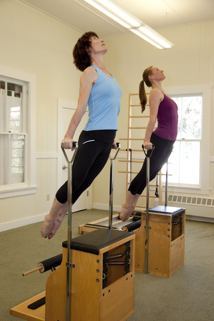 Balanced body pilates chair - Pilates Lengthens And Leans Your Body Abow