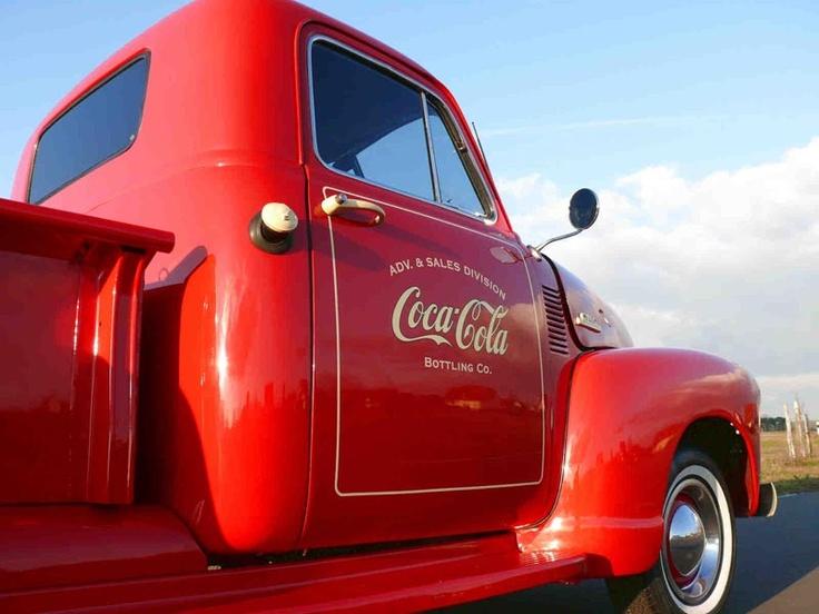 American Warehouse Coca Cola Pickup