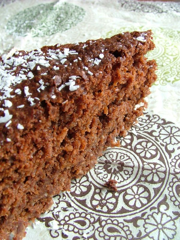 gâteau coco choco