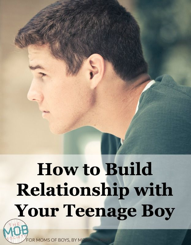 We must commit to building relationship with our teen sons so that when troubles come they'll have a safe place to land.