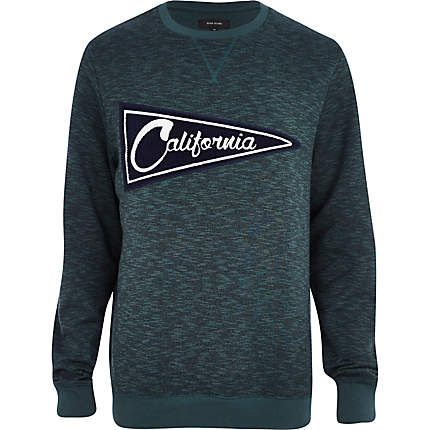 Dark green California sweatshirt £28.00