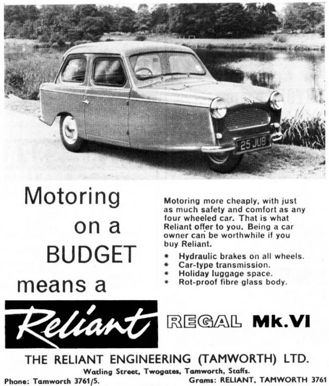 Reliant Regal MK VI