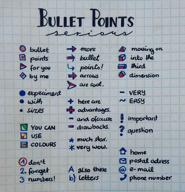 did some bullet point inspiration today... . . . . tags {{#bulletpoint…