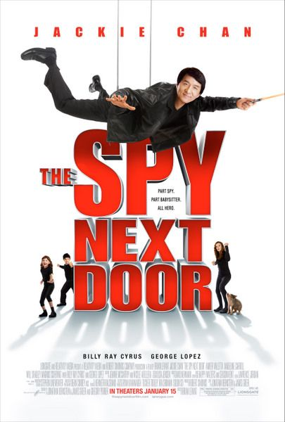 2008 THE SPY NEXT DOOR Jackie Chan is a pro and super nice to boot. Fun family flick. Autographed his bio for me!