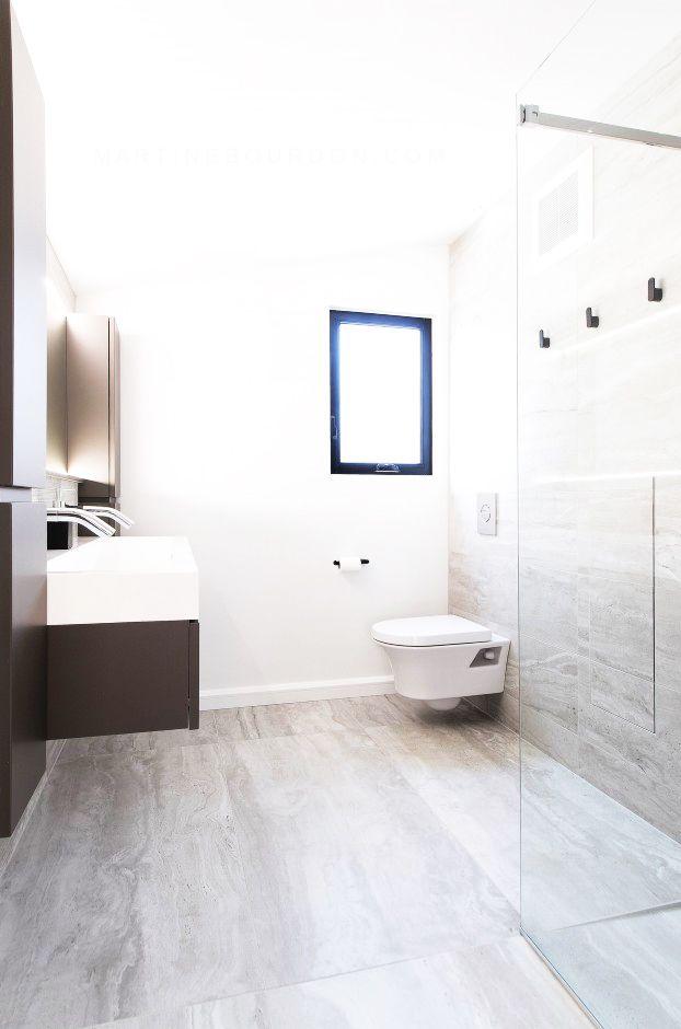 Salle de bain  chic et moderne Réalisations de nos designers