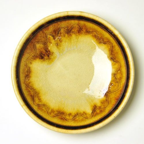 瀬戸本業窯|波紋皿