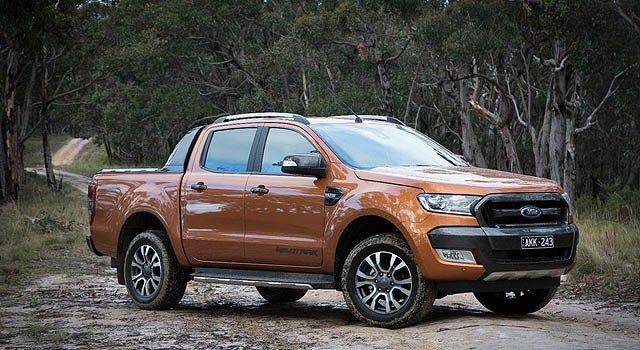 2019 Ford Ranger Wildtrak Spied Brings New Colors Ford Ranger