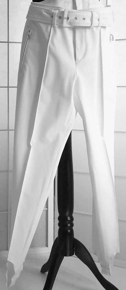 NEU: BOGNER DAMEN-STEGHOSE, weiß, Größe 36/US 6 in Kleidung & Accessoires, Damenmode, Hosen | eBay
