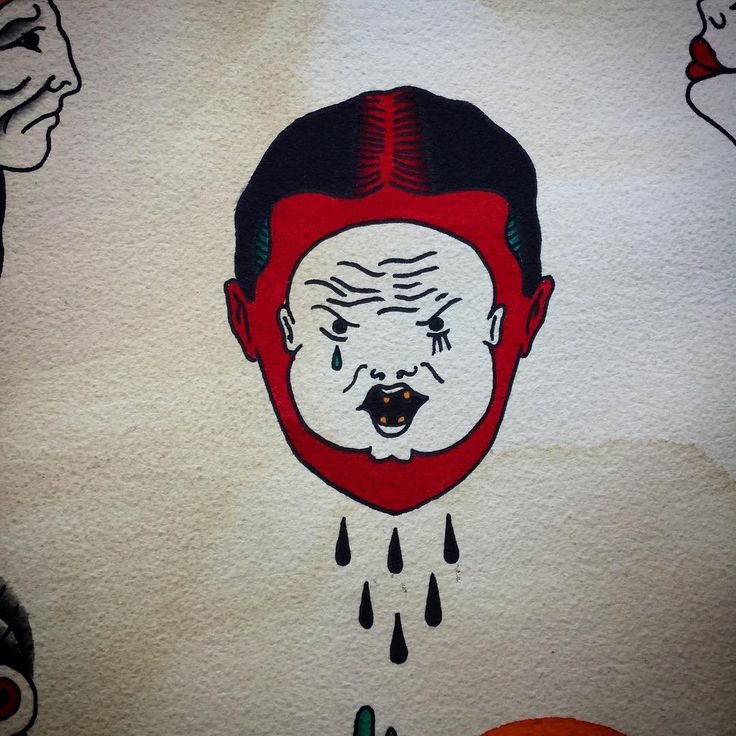 Wolny wzorek / design available ✌️ #innerchild #stupid #kid #lol #allspit #tattoos  #trflash #trad_tattooflash #tattoo #warsawtattoo #tatuaż #oldschool #ilustracja  #illustration  #flashaddicted #flashworkers #traditionaltattoo #oldschooltattoo #spitshade #cool #lady #warszawa #oldlines #lublin #eutradtattoo #poland  #instaart #darkartists  #painting #doodle
