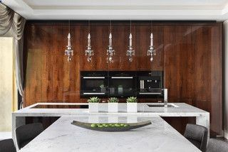 Fitzrovia Apartment - Kitchen - contemporary - kitchen - london - by Oliver Burns