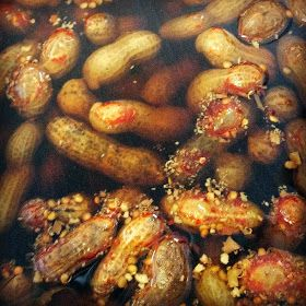 Check out the recipe for this easy Southern favorite: Cajun Boiled Peanuts