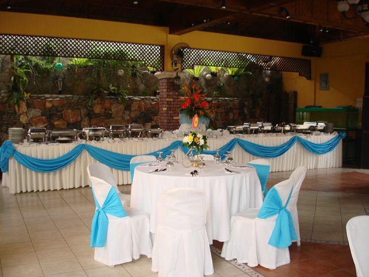how to set up a buffet table | Villa Leonila - Photo ...