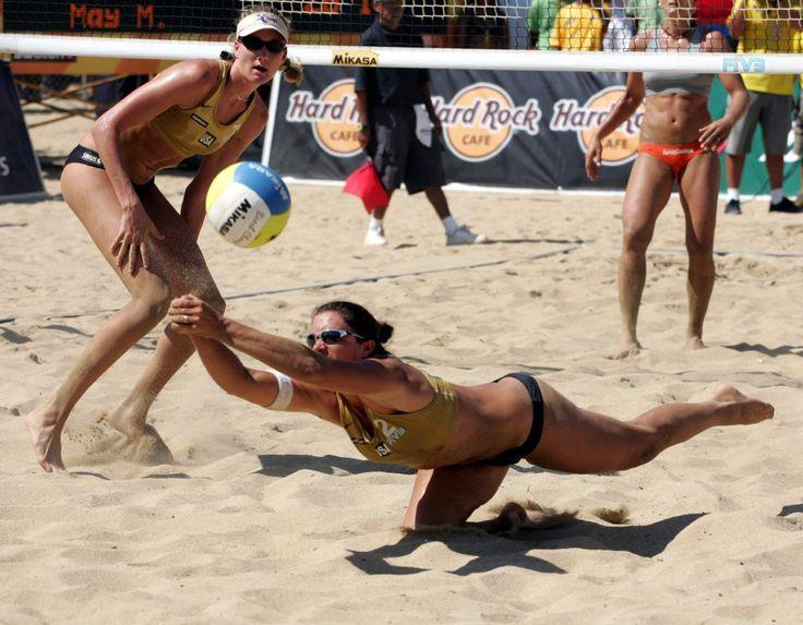 Misty Elizabeth May-Treanor -American professional beach volleyball player
